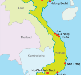 Malaria Kambodscha Karte.Vietnam Reisen Tipps Und Infos Zum Vietnam Urlaub