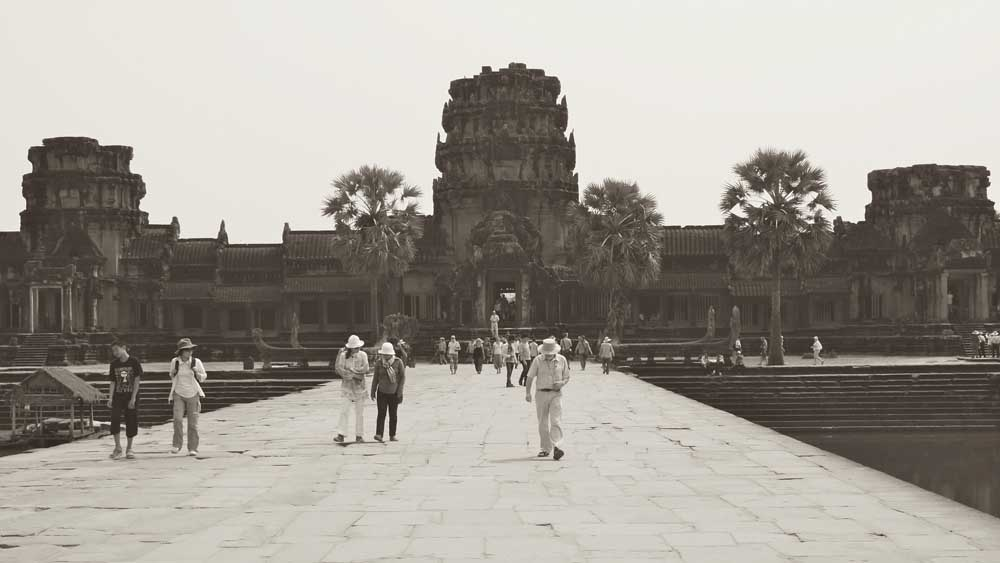 Angkor Wat Vietnam Kombination