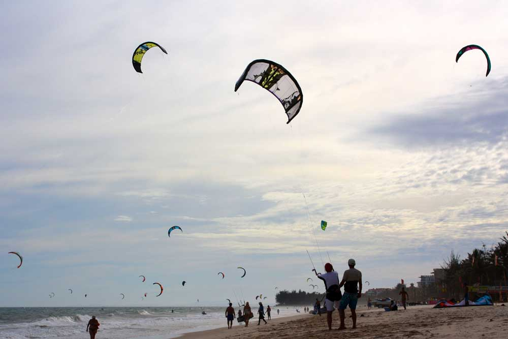 Mui Ne Vietnam Kitesurfing