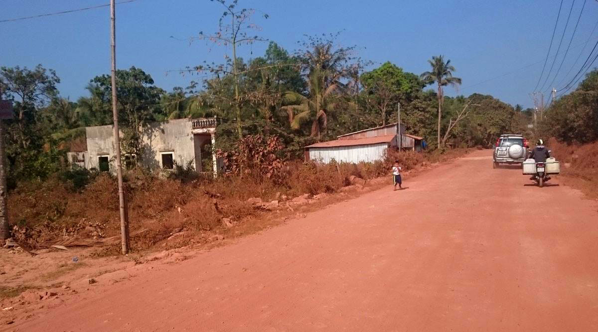 Auf dem Roller über die Insel Phu Quoc