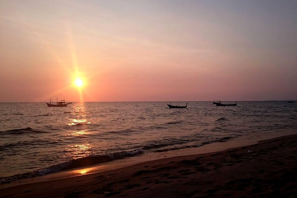 Phu Quoc Vietnam Sonnenuntergang