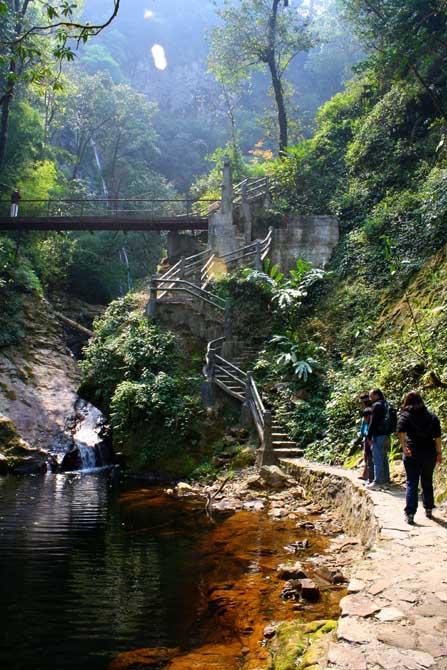Sapa Trekking Wasserfall
