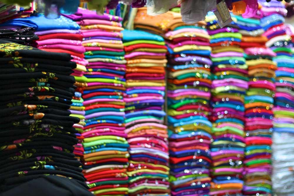 Saigon Vietnam Markt